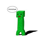 Kawaii Minecraft Creeper by totalighter