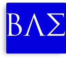BAE White Logo Canvas Print
