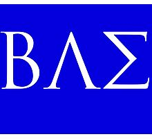 BAE White Logo Photographic Print