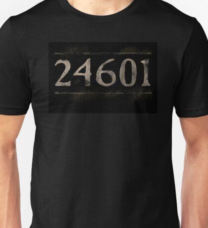 Prisoner 24601 Les Miserables Unisex T-Shirt