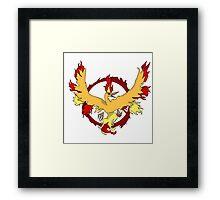 Valor Emblem Framed Print