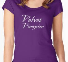 Velvet Vampire Women's Fitted Scoop T-Shirt