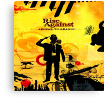Rise Against Appeal To Reason Album Artwork Canvas Print