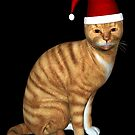Red Tabby Got Christmas Feeling by Mythos57
