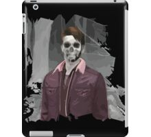 Wade Thornton Skeletal with background iPad Case/Skin
