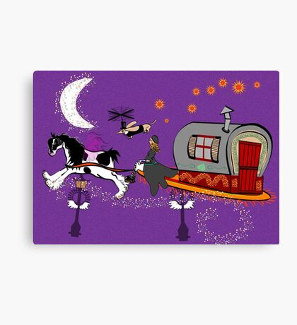 Gypsy Time Travellers Canvas Print