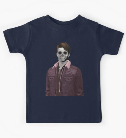 Wade Thornton Skeletal Kids Tee