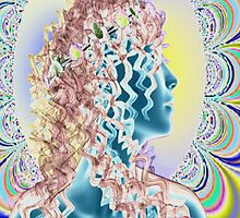 PSYCHEDELIC NEW ROMANTIC by Icarusismart