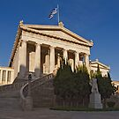 National Library of Greece in Athens by Konstantinos Arvanitopoulos