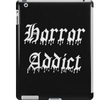 Horror Addict iPad Case/Skin