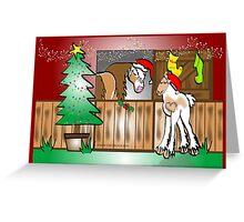 Gypsy Cob Christmas Card 4 Greeting Card