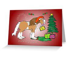 Gypsy Cob Christmas Card 5 Greeting Card