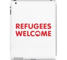 Refugees Welcome Australia (Red) iPad Case/Skin