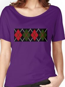 Argyle Pattern by Clan Mackintosh Women's Relaxed Fit T-Shirt