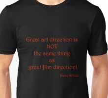 Great Art, Great Film - Gene Wilder Unisex T-Shirt