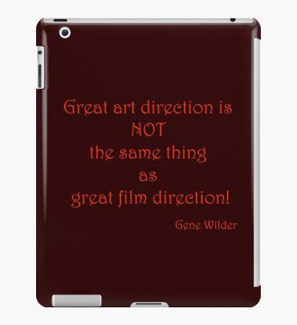 Great Art, Great Film - Gene Wilder iPad Case/Skin