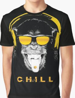 Chill Monkey Graphic T-Shirt