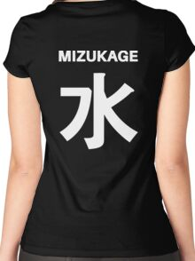 Kage Squad Jersey Mizukage Women's Fitted Scoop T-Shirt