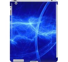Fantasy blue lightning iPad Case/Skin