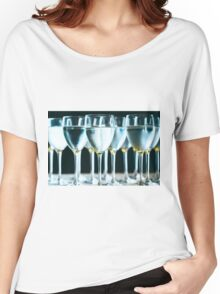 Pure drinking water in glasses Women's Relaxed Fit T-Shirt
