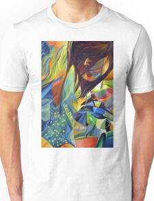 Cause I'm broken, 120-80cm, 2016, oil on canvas Unisex T-Shirt