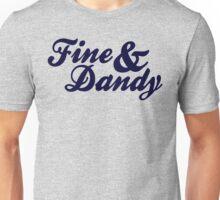 Fine & Dandy Blue Unisex T-Shirt