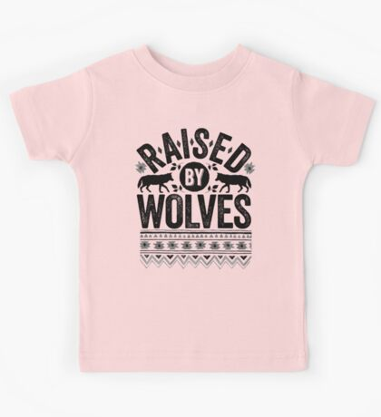 Raised By Wolves {Black + White} Kids Clothes