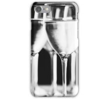 Pure drinking water. Black and white picture. iPhone Case/Skin