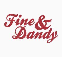 Fine & Dandy Red One Piece - Short Sleeve