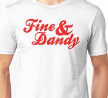 Fine & Dandy Red Unisex T-Shirt