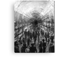 metro impression Canvas Print
