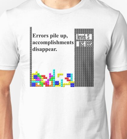 tetris philosophy Unisex T-Shirt