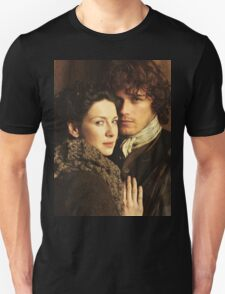 Claire and Jamie fraser Outlander Unisex T-Shirt