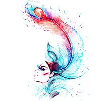 abstraction girls Photographic Print