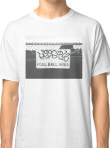 Foul Ball Area Classic T-Shirt