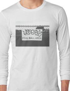 Foul Ball Area Long Sleeve T-Shirt