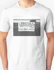 Foul Ball Area Unisex T-Shirt