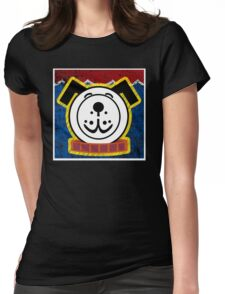 Fisher Price Dog Pop Art Womens Fitted T-Shirt