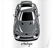 Lexus LFA (gray) Poster