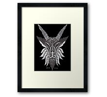 Cross Baphomet Framed Print