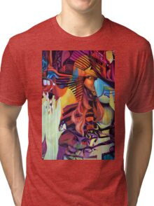 Crazy in Love, 120-80cm, 2016, oil on canvas Tri-blend T-Shirt