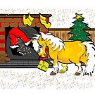 Mini Pony Christmas Card 2 by Diana-Lee Saville