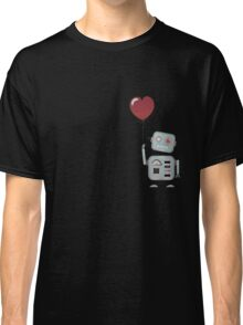 Robot in love Classic T-Shirt