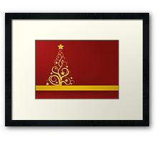 Christmas design Framed Print