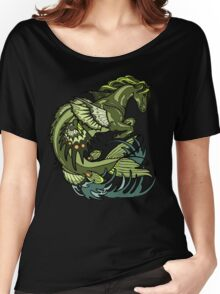 selkie, kelpie. hippocampus, sea horse Women's Relaxed Fit T-Shirt