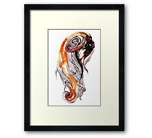 abstraction girls Framed Print