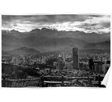 Santiago de Chile Poster