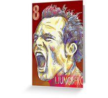 Freddie Ljungberg Greeting Card