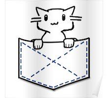 Pocket Cat Poster