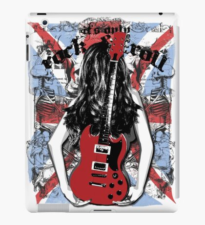 Its Only Rock And Roll iPad Case/Skin